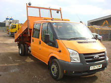 e2a639030a tipper van low mileage for sale tipper vans crew cab tipper · click to view  transit crew cab tipper for sale