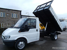 ford transit tipper single cab for sale