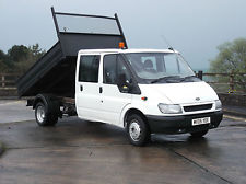 tipper van low mileage for sale